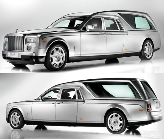 Катафалка Rolls Royce Phantom B12